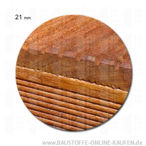 Bankirai Terrassendielen 21 mm