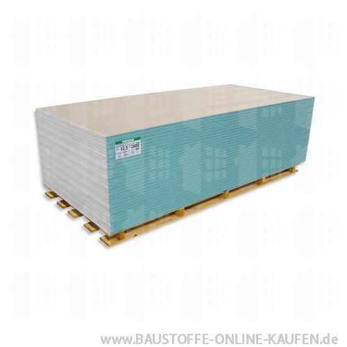 Gipskartonplatte GKFI 15mm von Rigips Knauf Siniat Norgips