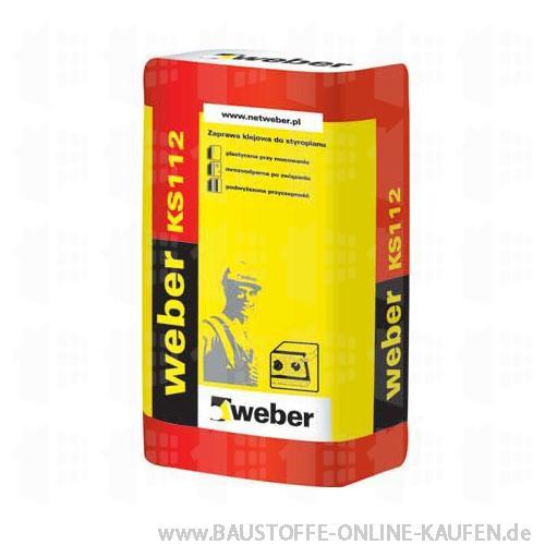 Weber KS 112 Kleber für Styropordämmplatten